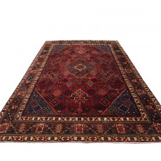 """8'8"""" X 12'5"""" Persian Rug from 1940s , Vintage Classic Antique Persian Rug Made of Merino Wool with Organic Colors"""