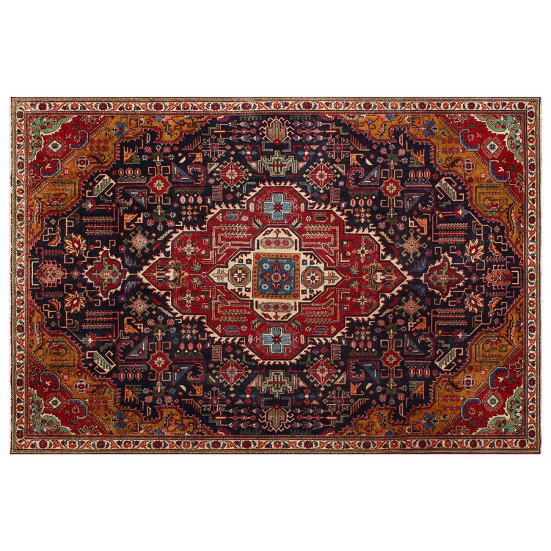 Distressed Persian Rug Home Decor