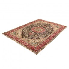 """6'6"""" X 9'7"""" Kashan Vintage Rug from 60 years ago , Highes Class Antique Persian Area Rug"""