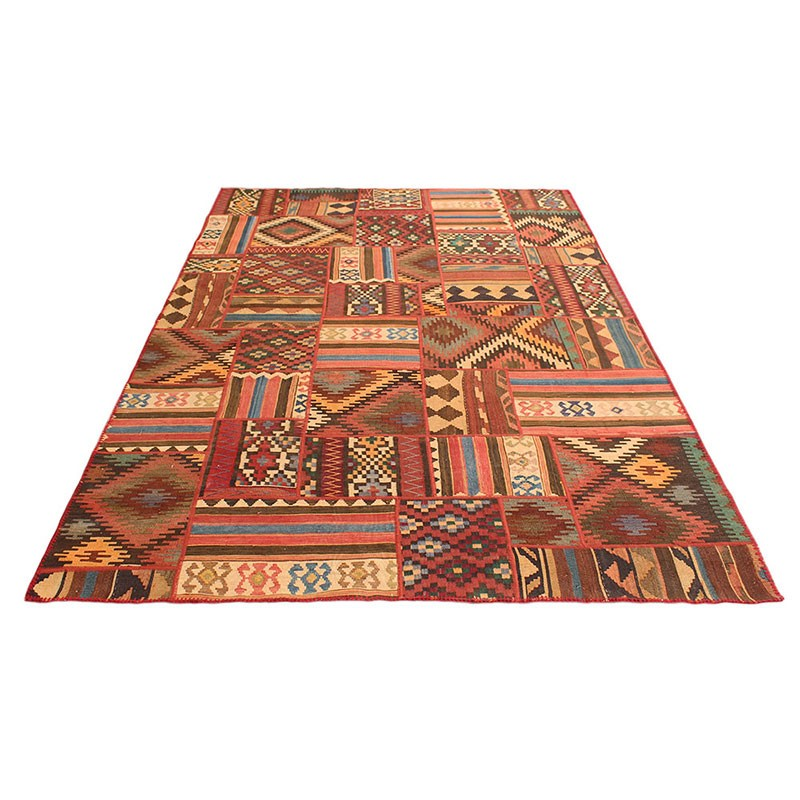 "Persian Carpet Quality: 6'6"" X 10' Kilim Patchwork Area Rug , High Quality Persian"
