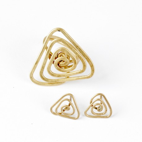 Triangle Swirl Set