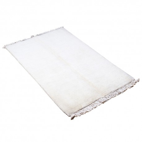 Hand knotted Persian Gabbeh Rug with Solid Design