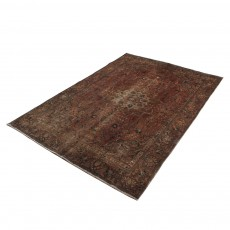 4'X 6' Over dyed Vintage Persian Area Rug