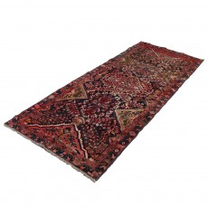 """4'6"""" X 8'7"""" Unique Vintage Classic Wool Persian Runner Rug"""