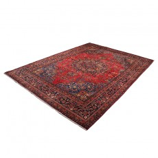 Vintage Classic Persian Rug Kashan Design from 1950s , High Class Antique Persian Rug Made of Merino Wool