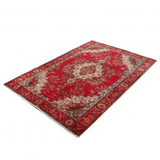 """5'5"""" X 9'6"""" Vintage Classic Persian Rug Kashan Design from 1950s , High Class Antique Persian Rug"""