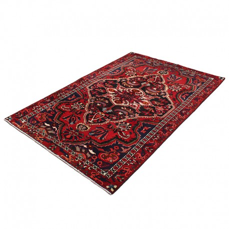"""5'3"""" X 8'9"""" Vintage Handwoven Persian Rug from early 1900s ,Vintage Persian Rug ,Persian Rug"""