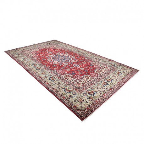 """10' X 16'6"""" Persian Rug from 1920s , Vintage Classic Antique Persian Rug Made of Merino Wool with Organic Colors"""