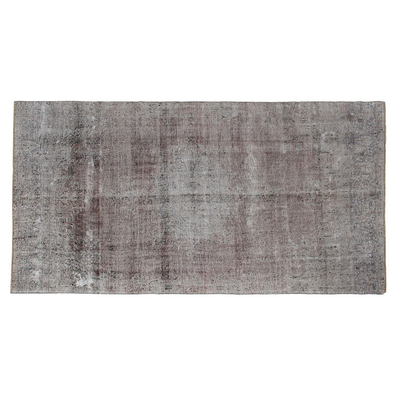 6'x12' Overdyed Vintage Persian Area Rug, Antique Persian