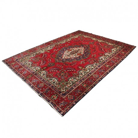 "9'4"" X 12'7"" Persian Rug from 1940s , Vintage Classic Antique Persian Rug Made of Merino Wool"