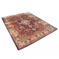 """9'7"""" x12'5"""" Vintage Handwoven Persian Rug from late erarly 1900 ,Vintage Persian Rug"""