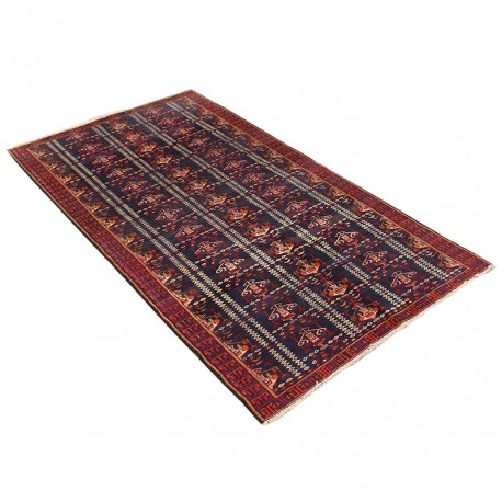 "4' X 7'4"" Antique Classic Persian Runner Rug from 1940s"