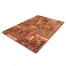 "6'6"" X 10' Kilim Patchwork Area Rug , High Quality Persian Kilim Patchwork Rug, Turkish Patchwork"