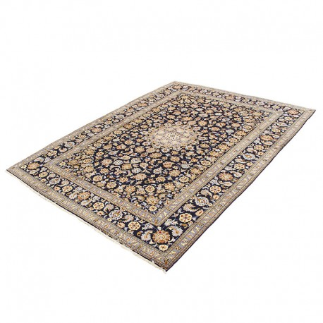 Brown and Beige Persian Hand Knotted Area Rug