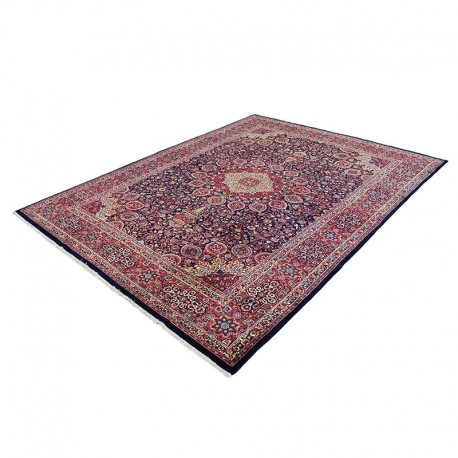 Classic Persian Rug from Mashhad, Hand Knotted Rug