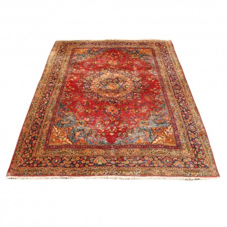 vintage classic persian rug sabzevar design high class antique persian rug
