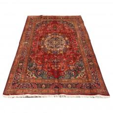 Antique Persian Rug Woven in Sabzevar
