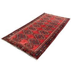Vintage Perisan Rug From Shiraz, Laki Color