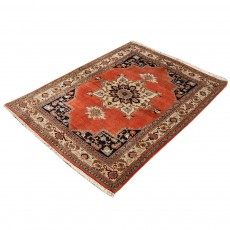 Beautiful Woven Persian Rug From Ardabil , Made of Merino Wool , Small Rug
