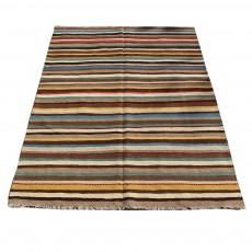 Vintage Classic Persian Kilim ,Shiraz Design , Beautiful Color