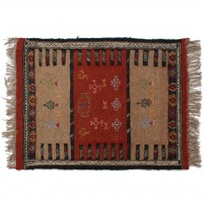 Persian Kilim Rug , From Mashhad,Hand Knotted and Made Of Merino Wool