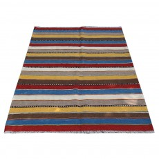 Persian Kilim Rug , From Shiraz ,Hand Knotted and Made Of Merino Wool