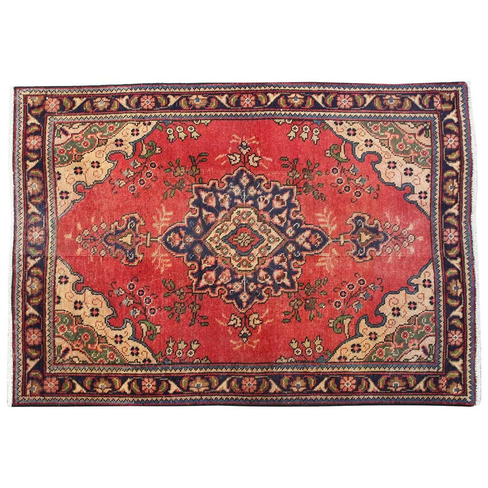 4 9 X 3 1 Oriental Floor Carpet Luxury Persian Rug Made Of Merino