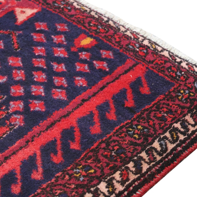 Antique Persian Rug For Living Room Geometric Pattern Area