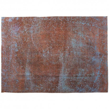 """10'10"""" x 7'7"""".Vintage Persian rug, Overdyed Rugs, Antique Persian rug for living roomS0101399"""