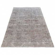 "8'8"" x 4'2"".Overdyed Rugs, Organic Colors , Hand knotted, Area rug, Vintage wool rug, Light Color, Code : S0101410"