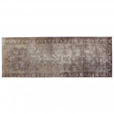 "9'0"" x 3'2"".Overdyed Rugs, Hand knotted, Area rug, Light Color, Code : S0101413"
