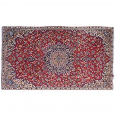 "10'4"" x 7'4"".Vintage Persian rug, Traditional area rug for sale, Oriental floor carpet, Floral design, Code : S0101155"