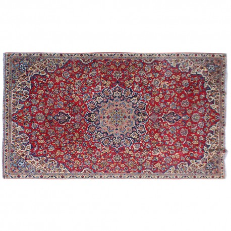 Vintage Persian Rug Traditional Area