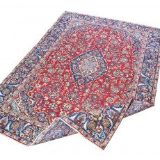 "10'5"" x 7'5"".Luxury Persian rug made of merino wool, Floral Pattern, Hand knotted, Code : S0101431"