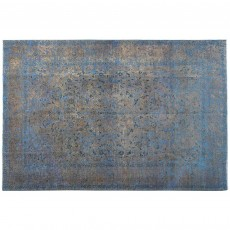 "12'9"" x 9'6"".Overdyed Rugs, Organic Colors , Woven Handmade, Dark Color, Code : S0101418"