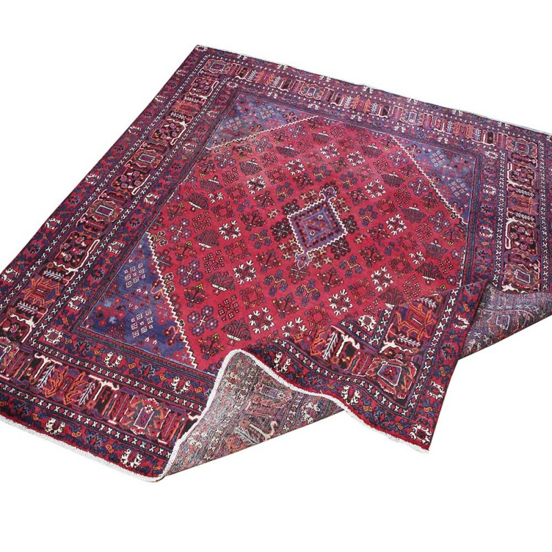 "Hand Knotted Persian Wool Area Rug 5 10: 10'5"" X 9'6"". Luxury Persian Rug Made Of Merino Wool"