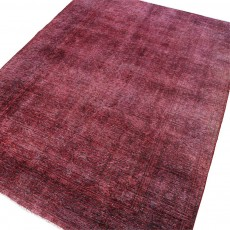 "10'9"" x 7'10"".Area rug, Vintage wool rug, Red Rug, Woven Handmade, Luxury Color, Code : S0101405"