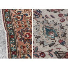 "11'4"" x 8'2"".Oriental floor carpet, Medallion floral design Code : S0101499"