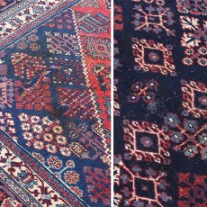 "11'10"" x 7'6"".Vintage Persian rug, Traditional area rug for sale, S0101428"