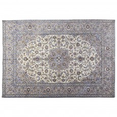 "11'7"" x 8'3"".Floral Pattern, Area rug, Vintage wool rug, Woven Handmade, Light Color, Code : S0101395"