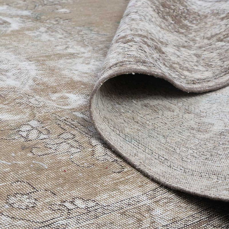 Overdyed Rugs, Medallion Floral Design ...