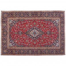 "10'7"" x 7'10"".Vintage Persian rug, Luxury Persian rug made of merino wool, Floral Pattern, Hand knotted, Code : S0101436"