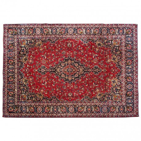 "10'2"" x 8'3"".Area rug, Vintage wool rug, Red Rug, Woven Handmade, Beautiful Design, Code : S0101497"
