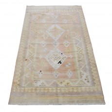 "7'7"" x 3'7"",Modern design rug Floor Kilim Rug, PersianKilim, Hand knotted, Area rug, Light Color, Code :S0101563"