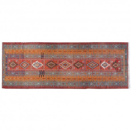 "14'3"" x 5'1"".Luxury Persian rug made of merino wool Area kilim rug, Code : S0101527"