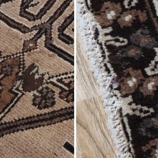 "12'0"" x 9'10"".Antique Persian rug for living room, Luxury Persian rug made of merino wool, S0101452"