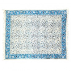 Sky Blue Calico Tablecloth