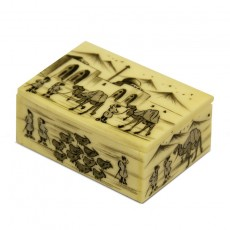 Persian miniature box