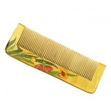 Painted Wood Comb