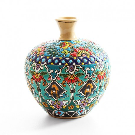 Earthenware Enamel Urn